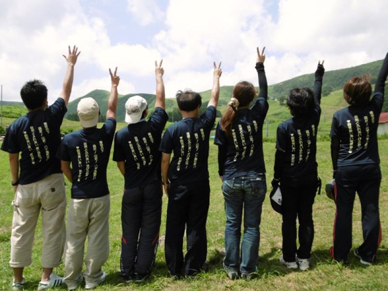 大阪市立小学校 先生のオリジナルTシャツ作成