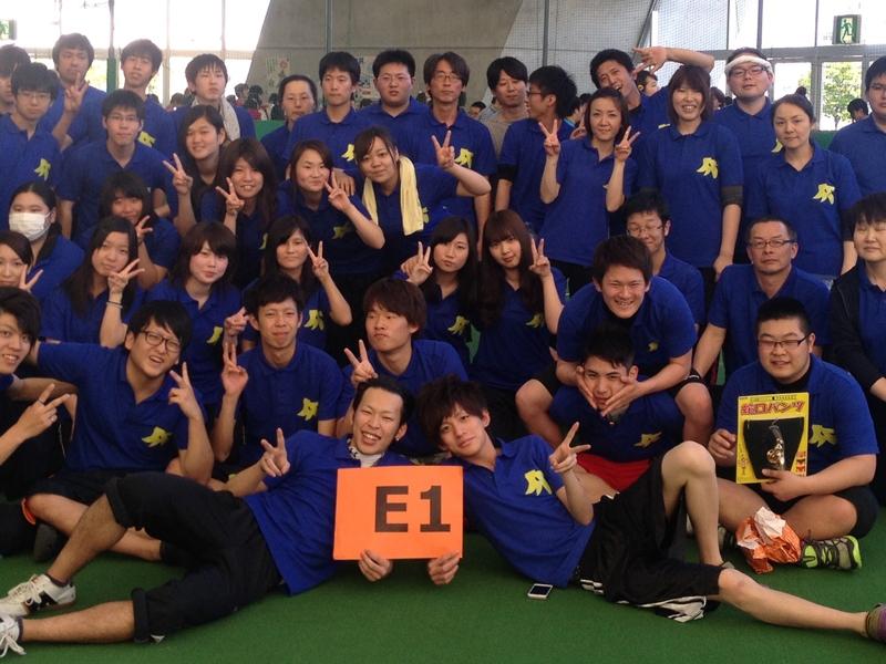 【作成事例】岡山県専門学校E1 クラスポロシャツ作成