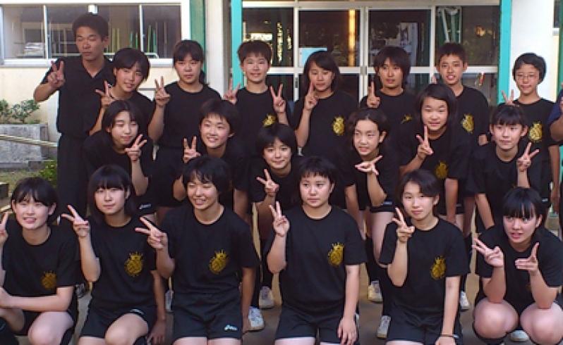 【事例】南さつま市立中学校 女子バレー部Tシャツ制作
