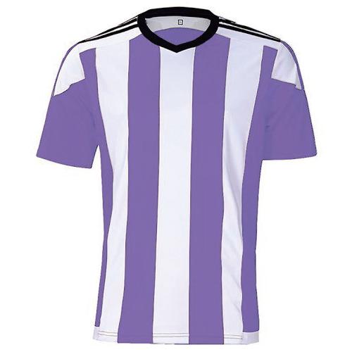 ストライプユニ 薄紫×白