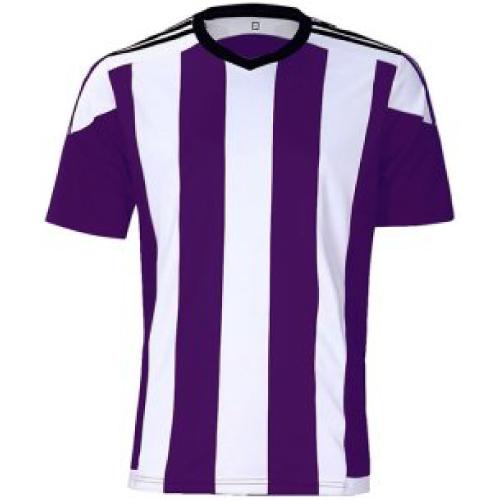 ストライプユニ 紫×白