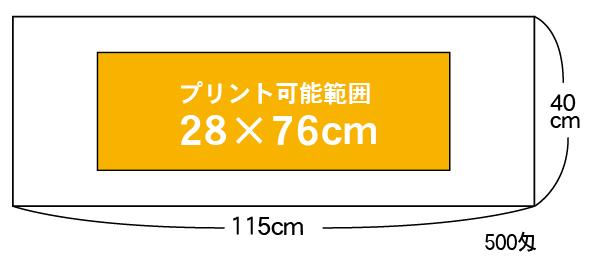 枠内タオル(スポーツサイズ)